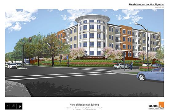 Medford Apartment Complex Breaks Ground - CUBE 3 Studio ...