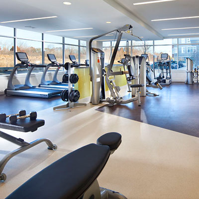 Vox on two fitness room in Cambridge MA