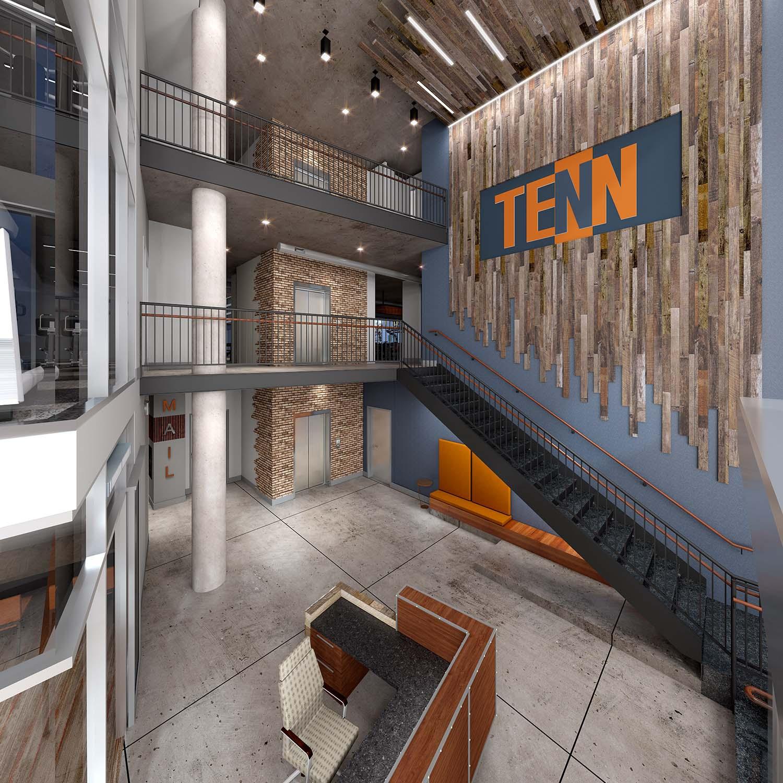 University of Tennessee CUBE 3 Studio Architecture Interiors